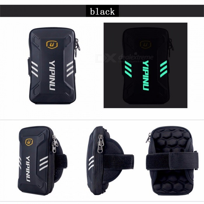 Buy Yipinu Waterproof Small Fitness Running Bag Wallet Jogging Phone Holder Purse Armband Gym Arm Bag Sports Accessories Silver with Litecoins with Free Shipping on Gipsybee.com