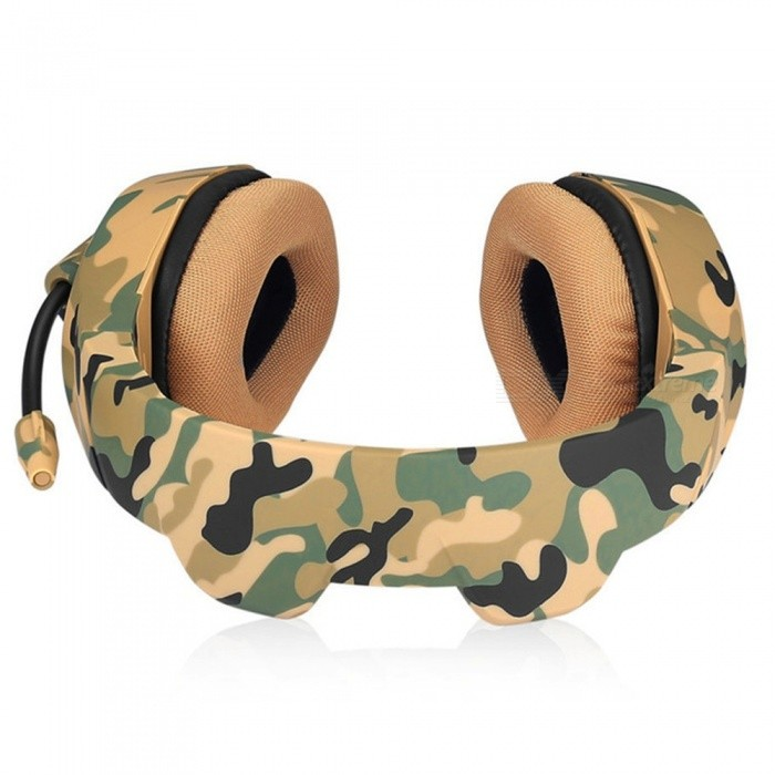 393eee6e41c ONIKUMA K1 Camouflage PS4 Headset, Bass Gaming Headphone / Game Earphone  with Mic for PC Mobile Phon