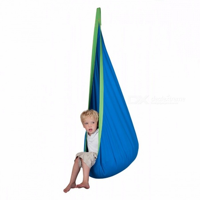 Swell Baby Inflatable Hammock Kids Hanging Chair Indoor Outdoor Child Swing Chair With Inflatable Cushion H1339 Blue Pabps2019 Chair Design Images Pabps2019Com