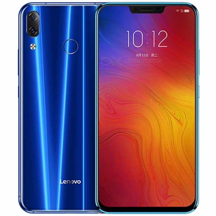 Lenovo Z5 Mobile Phone Octa Core 6GB 64GB 19:9 Full Screen Phone Android 8.1 4G LET Dual Sim Cards Smart Cellphone Black
