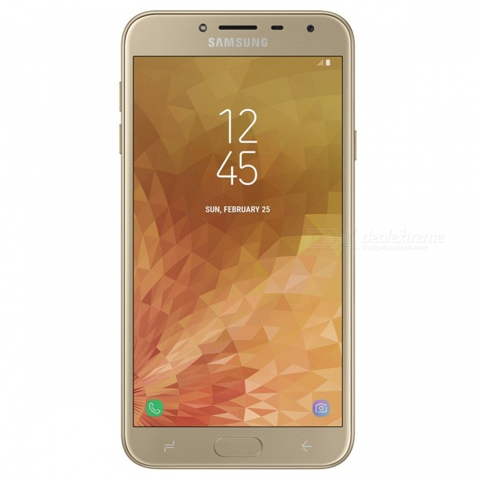 Buy Samsung Galaxy J4 J400GDS Dual Sim Mobile Phone with 2GB RAM, 16GB ROM - Gold with Litecoins with Free Shipping on Gipsybee.com