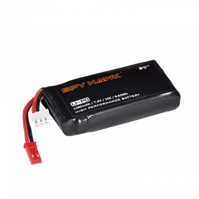 Hubsan H301S-19 7.4V 1300mAh15C li-po Battery for sale in Bitcoin, Litecoin, Ethereum, Bitcoin Cash with the best price and Free Shipping on Gipsybee.com