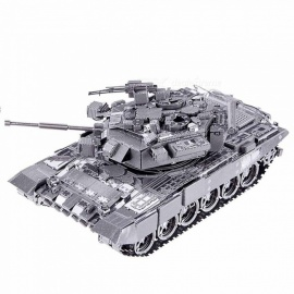 ZHAOYAO-DIY-3D-Metal-Puzzle-Toy-P047S-T-90A-Tank-Model-Kits-Assembled-Metal-Craft-3D-Puzzles