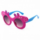 Children\'s Cartoon Sunglasses Children\'s Glasses Piggie Plastic Frame Cute Baby Polarized Sunglasses Pink