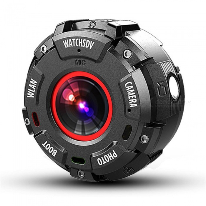 Buy Quelima HD Recorder, Mini DVR Sports DV Camera HD Waterproof Camera WIF Outdoor Night Vision Watch DV with Litecoins with Free Shipping on Gipsybee.com