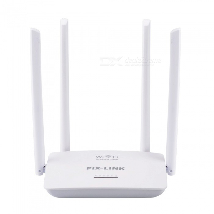 WiFi-Router-300Mbps-Wireless-Wi-Fi-Repeater-Extender-5-Ports-RJ45-With-4-Antennas