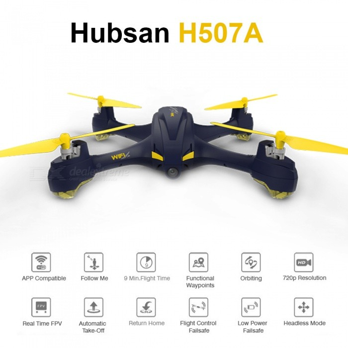 Hubsan H507A X4  RC Drone Quadcopter, RTF FPV Helicopter Toy with Camera GPS-RTF for sale for the best price on Gipsybee.com.