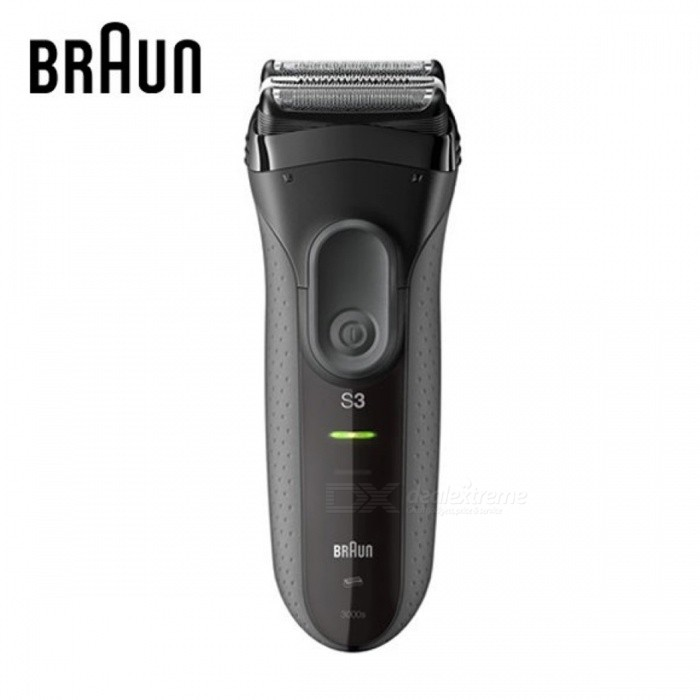Buy BRAUN S3 3000s Shaver (Rechargeable Electric or Battery use) with Litecoins with Free Shipping on Gipsybee.com