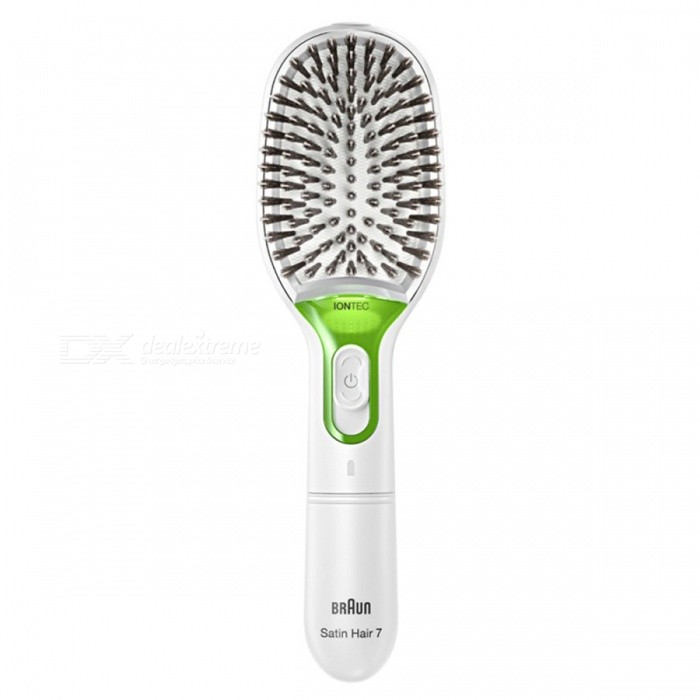 Buy BRAUN BR750 Satin-Hair Ion Brush with Litecoins with Free Shipping on Gipsybee.com