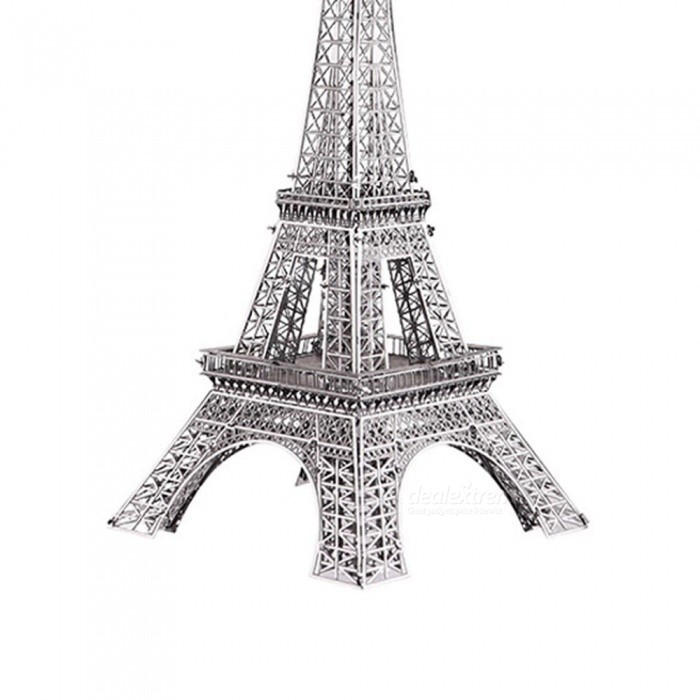 ZHAOYAO 3D Puzzle Toy, Paris Eiffel Tower 3D DIY Metal Puzzles, Construction Model - Gold for sale in Bitcoin, Litecoin, Ethereum, Bitcoin Cash with the best price and Free Shipping on Gipsybee.com