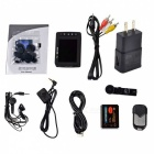 "2.5"" LCD CMOS Angel Eye Mini DVR with Remote Control/AV-Out/TF Slot"