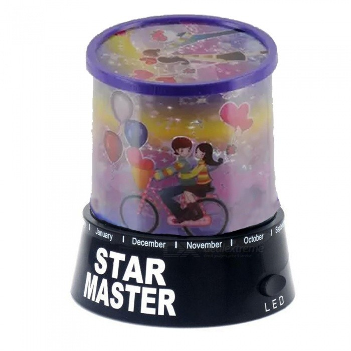 Buy OJADE 3 x AA Powered Star Master Mini Star Projector - Black with Litecoins with Free Shipping on Gipsybee.com