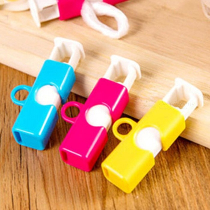 Buy Elastic Button-Type Bread Bag Sealing Clips (3 PCS) with Litecoins with Free Shipping on Gipsybee.com