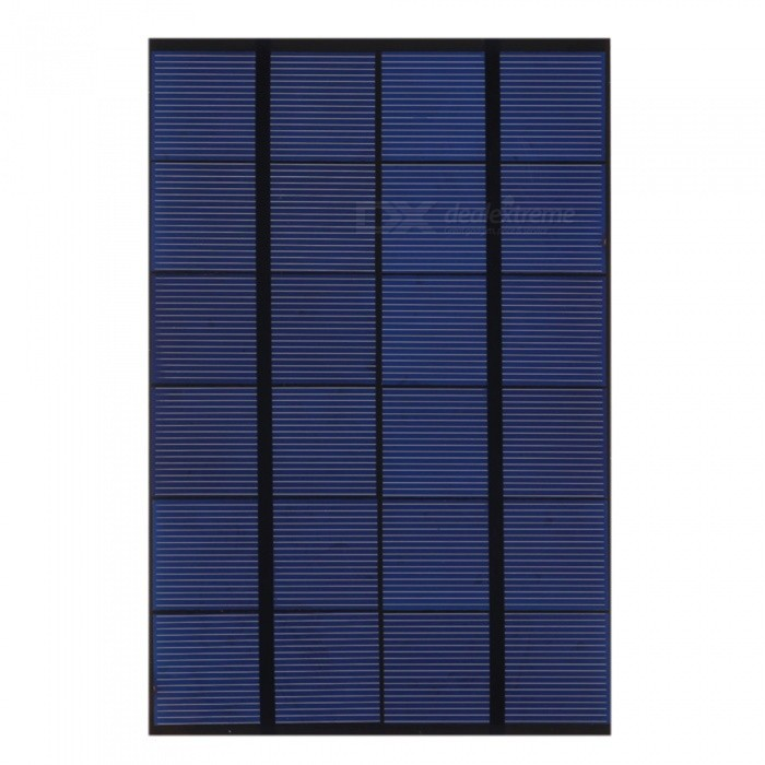 Buy JEDX 4.2w 6V Polysilicon Solar Panel SW4206 - Blue + Black with Litecoins with Free Shipping on Gipsybee.com