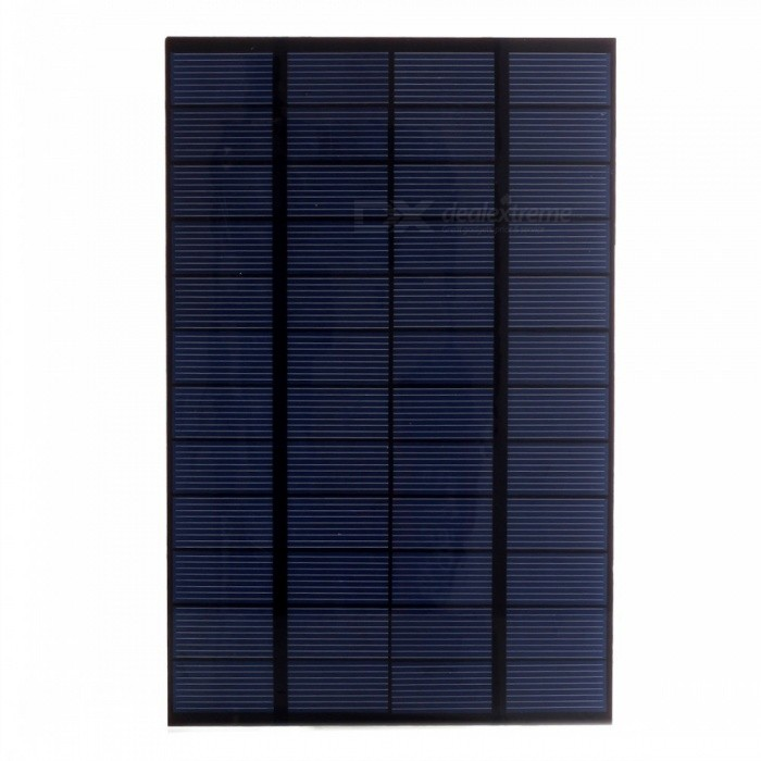 Buy JEDX Polysilicon Solar Panel 4.2W 12V - Blue + Black with Litecoins with Free Shipping on Gipsybee.com