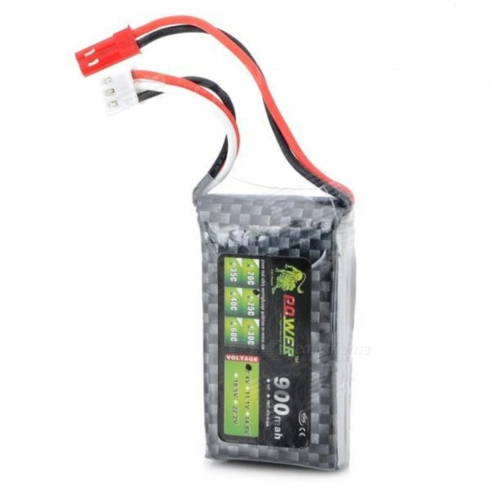 Buy 7.4V 900MAH 25C Lithium Battery for R/C Helicopter Car with Litecoins with Free Shipping on Gipsybee.com