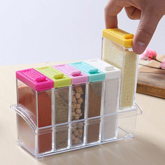 Buy Seasoning Bottle Box Kitchen Set with Litecoins with Free Shipping on Gipsybee.com