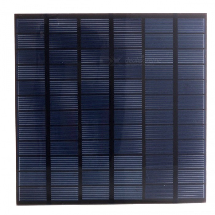 Buy JEDX Polysilicon Solar Panel 4.5W 18V - Blue + Black with Litecoins with Free Shipping on Gipsybee.com