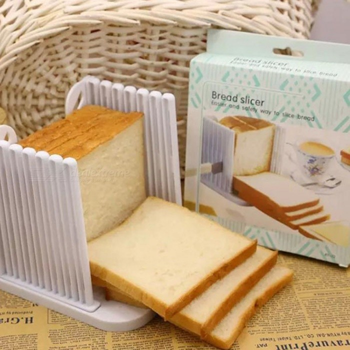 Buy Portable Bread Cutter Splitter Slicer with Litecoins with Free Shipping on Gipsybee.com