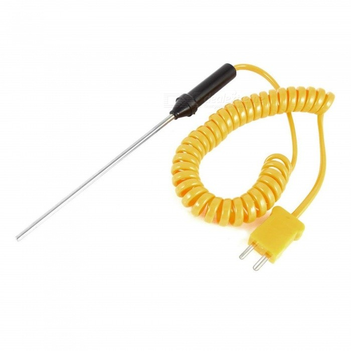 Buy BTOOMET Probe Coiled Thermocouple K Type 0 to 500 Celsius Scale 80mm x 3mm with Litecoins with Free Shipping on Gipsybee.com