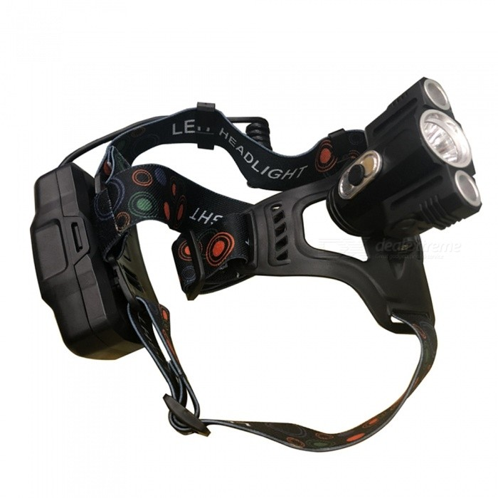 Buy SPO T6 10W Outdoor Bright Fishing Headlamp, Adventure Mining Lamp with Litecoins with Free Shipping on Gipsybee.com