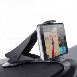6.5 Inch Dashboard Car Phone Holder Easy Clip Mount Stand Phone GPS Display Bracket Classic Black Car Holder Support classic