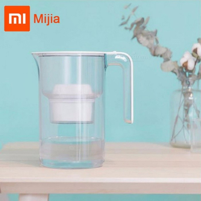 Buy Xiaomi Mijia Water Purification Jug Water Filter Purifier 1L Large Water Storage Three-Layer Filter  Kettle only 3pcs filter with Litecoins with Free Shipping on Gipsybee.com