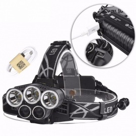 Portable-T6-5-LED-Super-Bright-USB-Rechargeable-Fishing-Riding-Headlamp-Head-Light-For-Outdoors