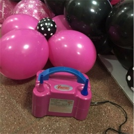 Youmay-Double-Hole-AC-2207e240V-Inflatable-Electric-Balloon-Pump-Air-Balloon-Pump-Balloon-Inflator-Pump-Air-Blower-Red
