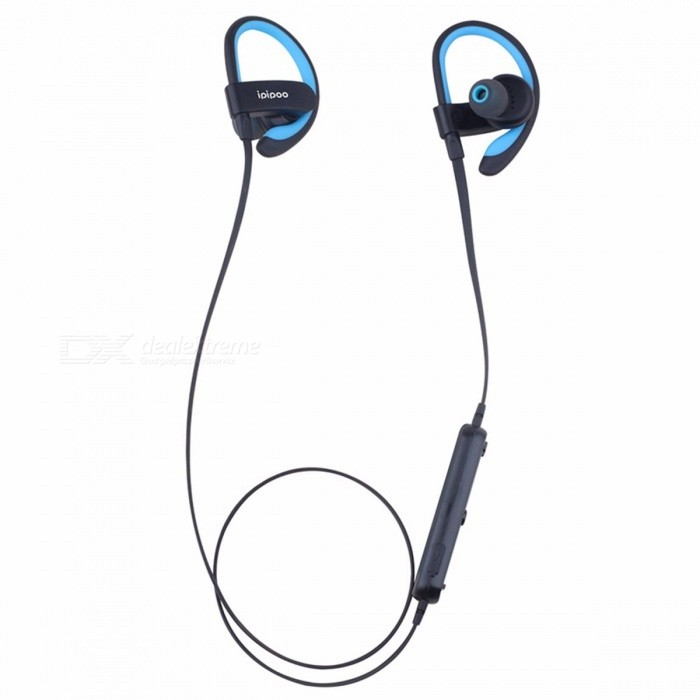 Portable-Wireless-Bluetooth-Ear-Hook-Earphone-Earbuds-Stereo-Headset-For-Running-Sports-Etc-Black