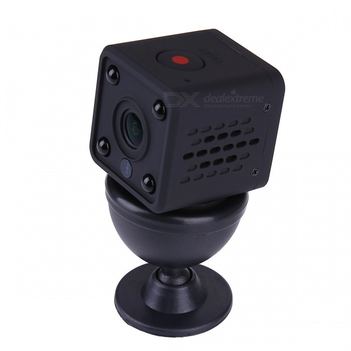 VESKYS 1.0MP 720P HD Mini Wireless WIFI IP Camera Built-in Battery Microphone Night Vision Motion Detect - EU Plug