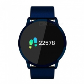 Q8 Smart Watch Colorful Screen Display Steel Strap Fitness Tracker
