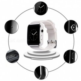 XSUNI Smartwatch Sport Watch for IPHONE, Android Phone - White