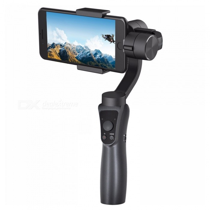 Buy Jcrobot S5 3-Axis Handheld Bluetooth Gimbal Stabilizer with Litecoins with Free Shipping on Gipsybee.com
