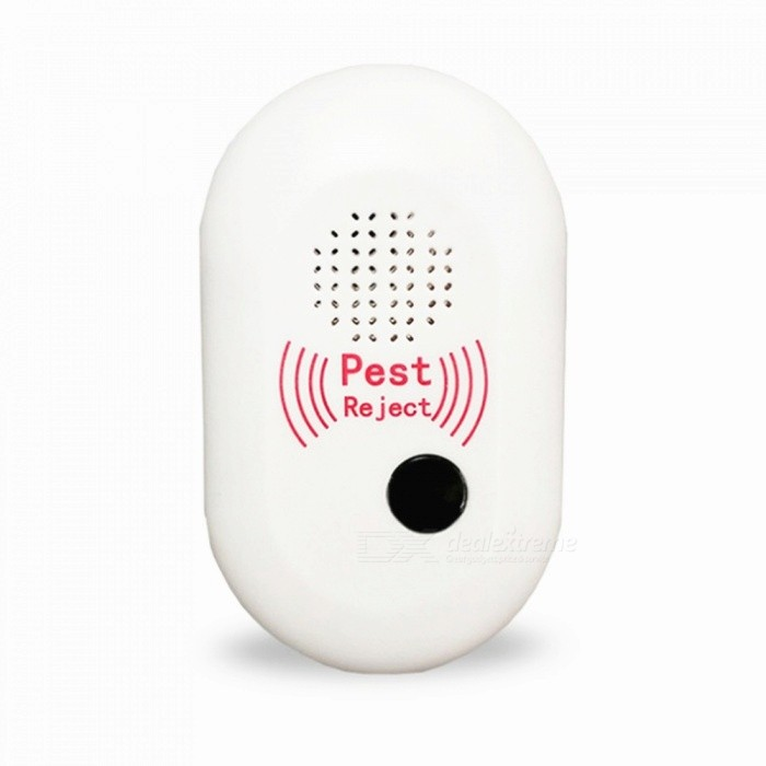 Multifunctional Environment-friendly Ultrasonic Electronic Mosquito Repellent Device - White (US Plug)