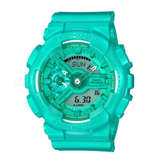 Casio G-Shock GMA-S110VC-3A S Series Vivid Color Series Watch - Turquiose