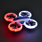 JXD 532 RC Helicopter, 2.4GHz 6 Axis Gyro Mini Quadcopter Drone Stunt Aircraft with Fantastic LED Night Lights - Blue
