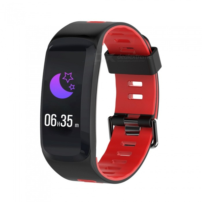 F4 Color Screen Smart Bracelet with Blood Pressure  Blood Oxygen  Heart Rate Monitor