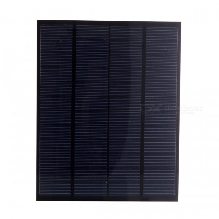 JEDX Polysilicon Solar Panel 5W 12V - Blue + Black for sale in Bitcoin, Litecoin, Ethereum, Bitcoin Cash with the best price and Free Shipping on Gipsybee.com