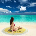JEDX-150cm-Letters-Printed-Microfiber-Summer-Bath-Towel-Round-Sand-Beach-Towel-for-Kids-Adults-Women-Yellow