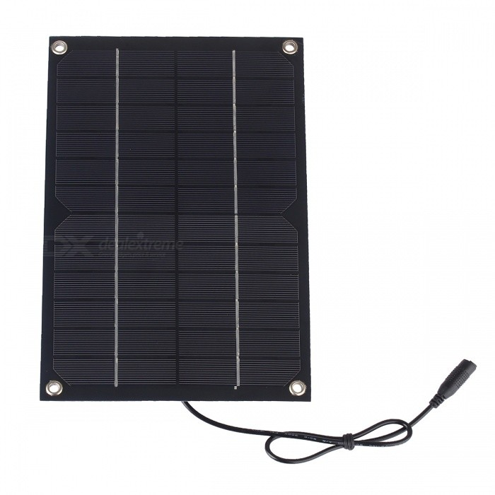 JEDX SWR6012D 6W 12V Monocrystalline Silicon PET Laminated Semi-flexible Solar Panel