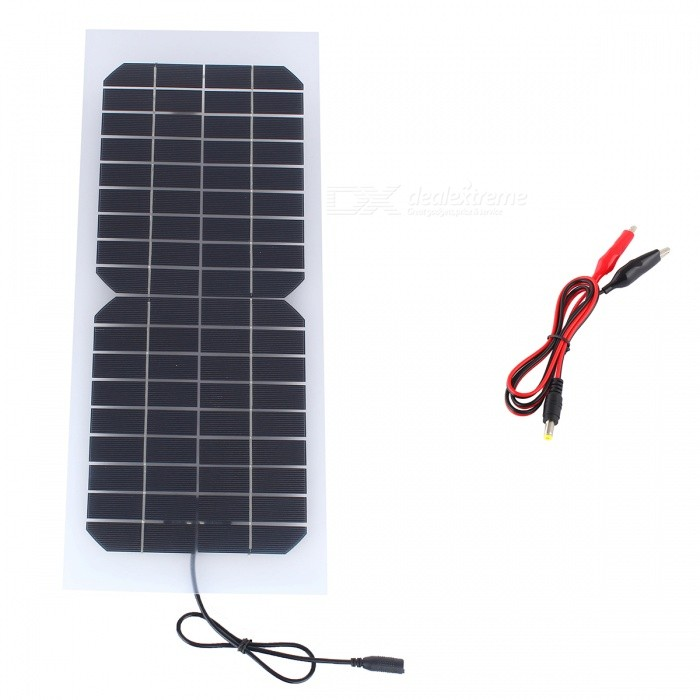JEDX SWR1018B 10W 18V Monocrystalline Flexible Transparent Solar Panel for sale in Bitcoin, Litecoin, Ethereum, Bitcoin Cash with the best price and Free Shipping on Gipsybee.com
