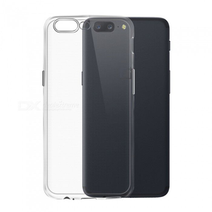 TOCHIC TPU Protective Soft Case for OnePlus 5 - Transparent