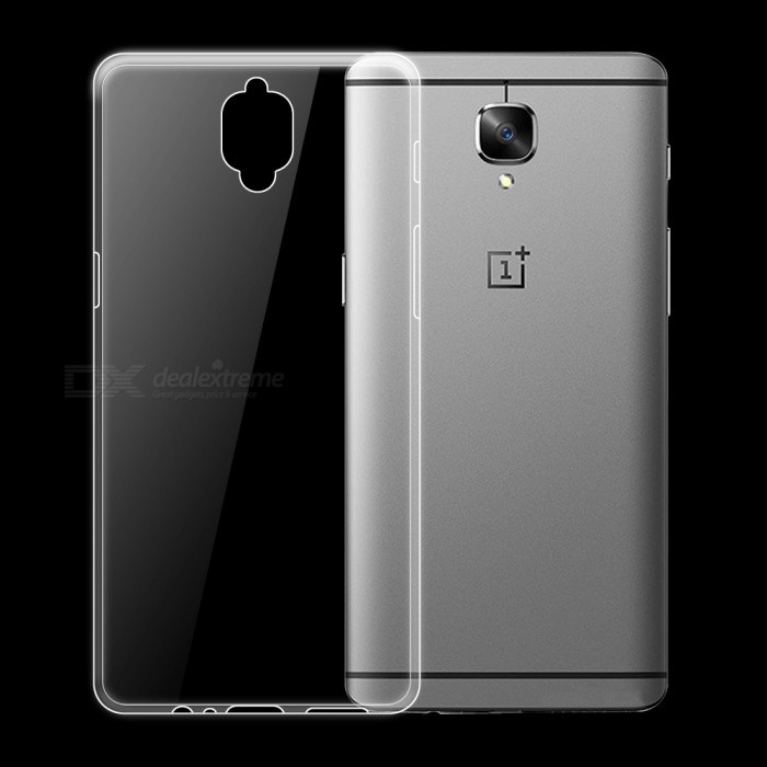 Dayspirit Ultra-Thin Protective TPU Back Case for OnePlus 3 , OnePlus Three , 1+3 - Transparent