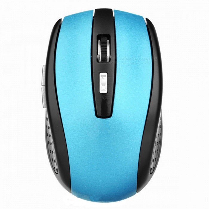 Buy BSTUO Wireless Bluetooth V2.0 Rechargeable Mouse - Blue with Litecoins with Free Shipping on Gipsybee.com
