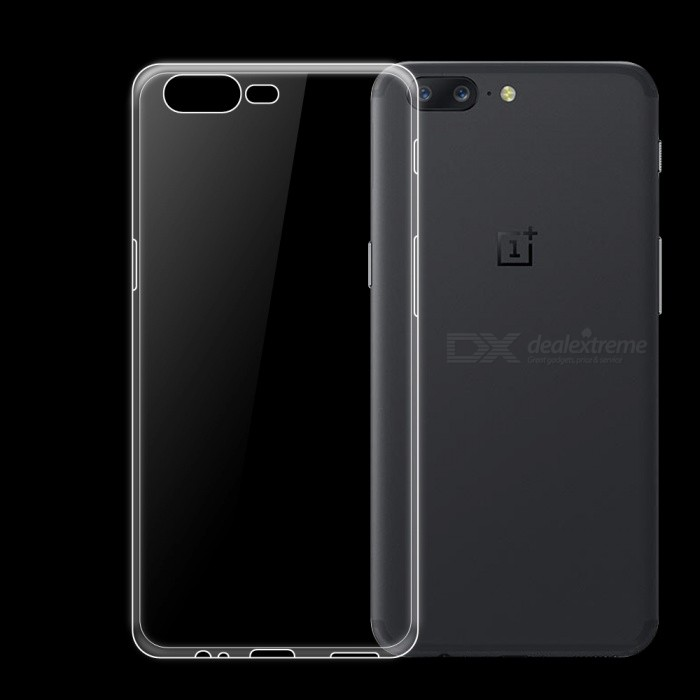 Dayspirit Ultra-Thin Protective TPU Back Case for OnePlus 5 , 1+5 - Transparent
