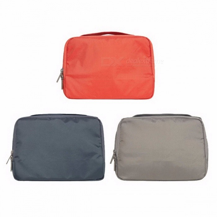 Original Xiaomi 90fun Makeup Bag, Cosmetic Case Storage Bag, Waterproof Travel Zip Portable Toiletry Travelling Bag 3L Gray for sale in Bitcoin, Litecoin, Ethereum, Bitcoin Cash with the best price and Free Shipping on Gipsybee.com
