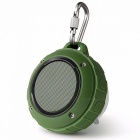 F4-Wireless-Subwoofer-Bluetooth-Speaker-Column-Handsfree-Micro-SD-USB-MP3-Player-With-Microphone-Army-GreenSpeaker