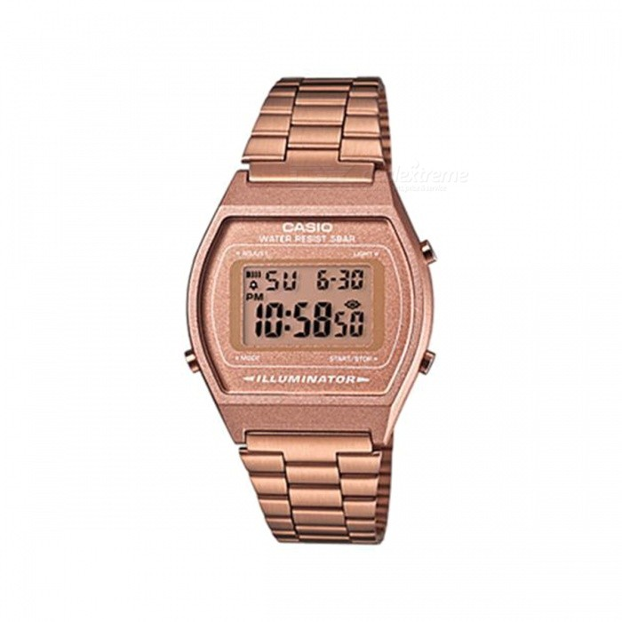 Casio B640WC-5A Illuminator Bronze Stainless Steel Watch - Rose Gold (Without Box)
