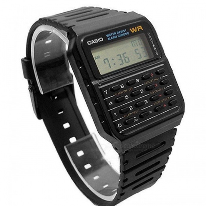 4a2a1a7b4ded ... Casio CA-53W-1Z Calculator Vintage Retro Watch - Black (Without Box) ...